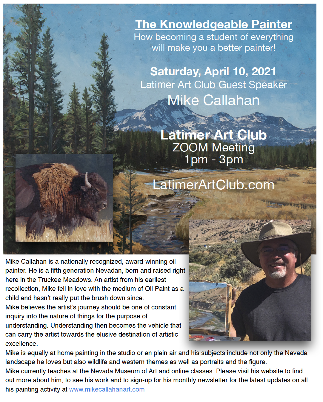 mike callahan speaker for april 2021 meeting