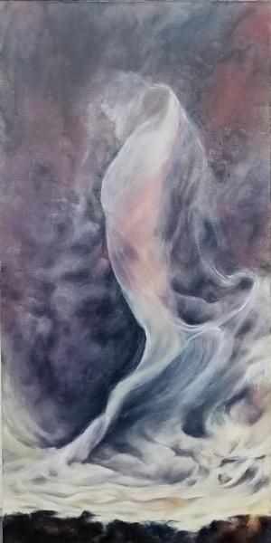 Anette Rink Portfolio Anette Rink 'Aspen Fragments' Watercolor on Yupo